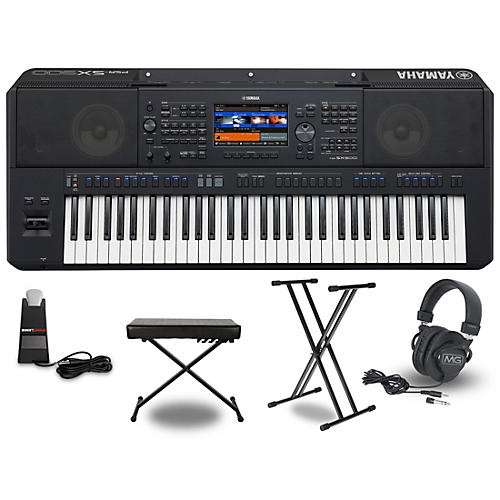 Yamaha PSR-SX900 Keyboard Package Essentials Package