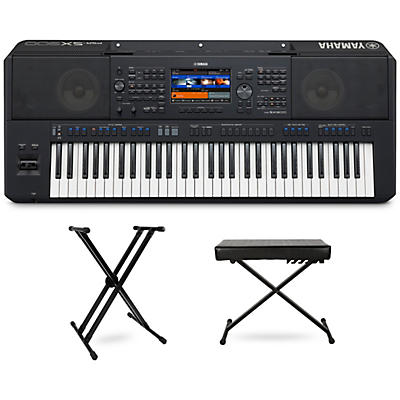 Yamaha PSR-SX900 Keyboard with Stand and Bench