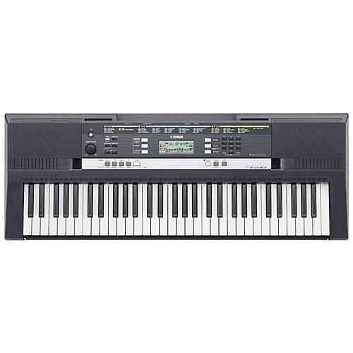 yamaha psre243 61 key entry level portable keyboard musician 39 s friend. Black Bedroom Furniture Sets. Home Design Ideas