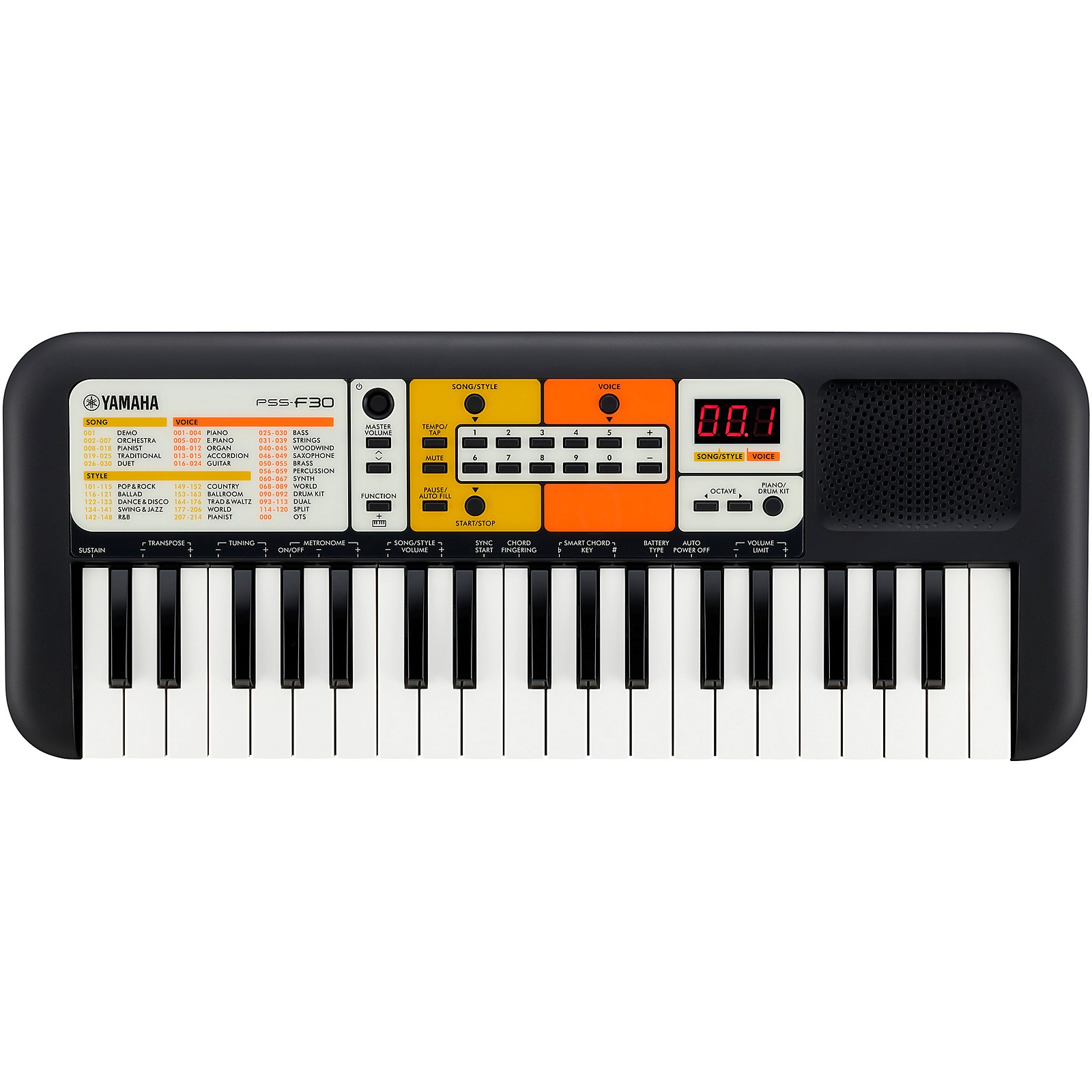 Yamaha PSS-F30 Mini-Keyboard