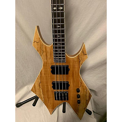 B.C. Rich PSWBW Paolo Gregoletto Signature Warlock Electric Bass Guitar