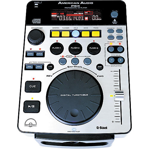 American Audio PSX CD Player with FX