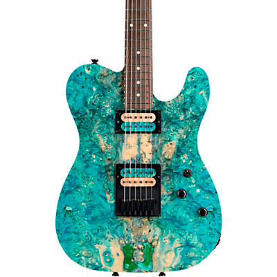 Schecter Guitar Research PT USA Buckeye Burl 6-String Electric Guitar