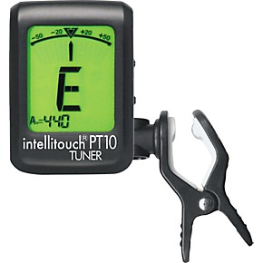 Intellitouch pt 10 mini clip on electric guitar and bass tuner.