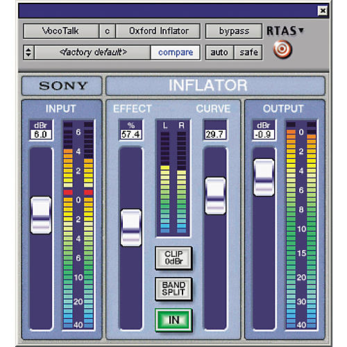 Sony PTL-INFLG2 Oxford Inflator Plug-In for Pro Tools LE