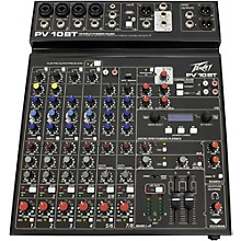 Open Box Peavey PV 10 BT Mixer with Bluetooth
