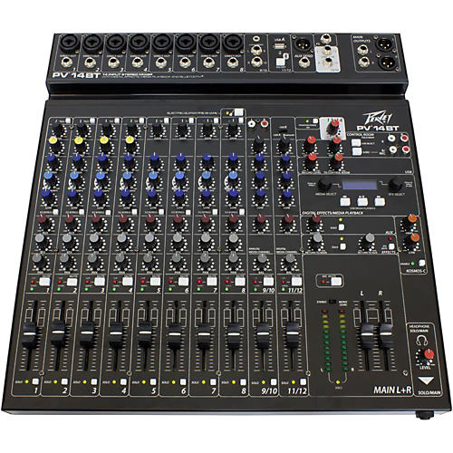 Peavey PV 14 BT Mixer with Bluetooth Condition 1 - Mint