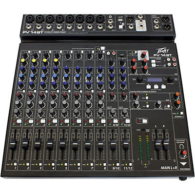 Peavey PV 14 BT Mixer with Bluetooth