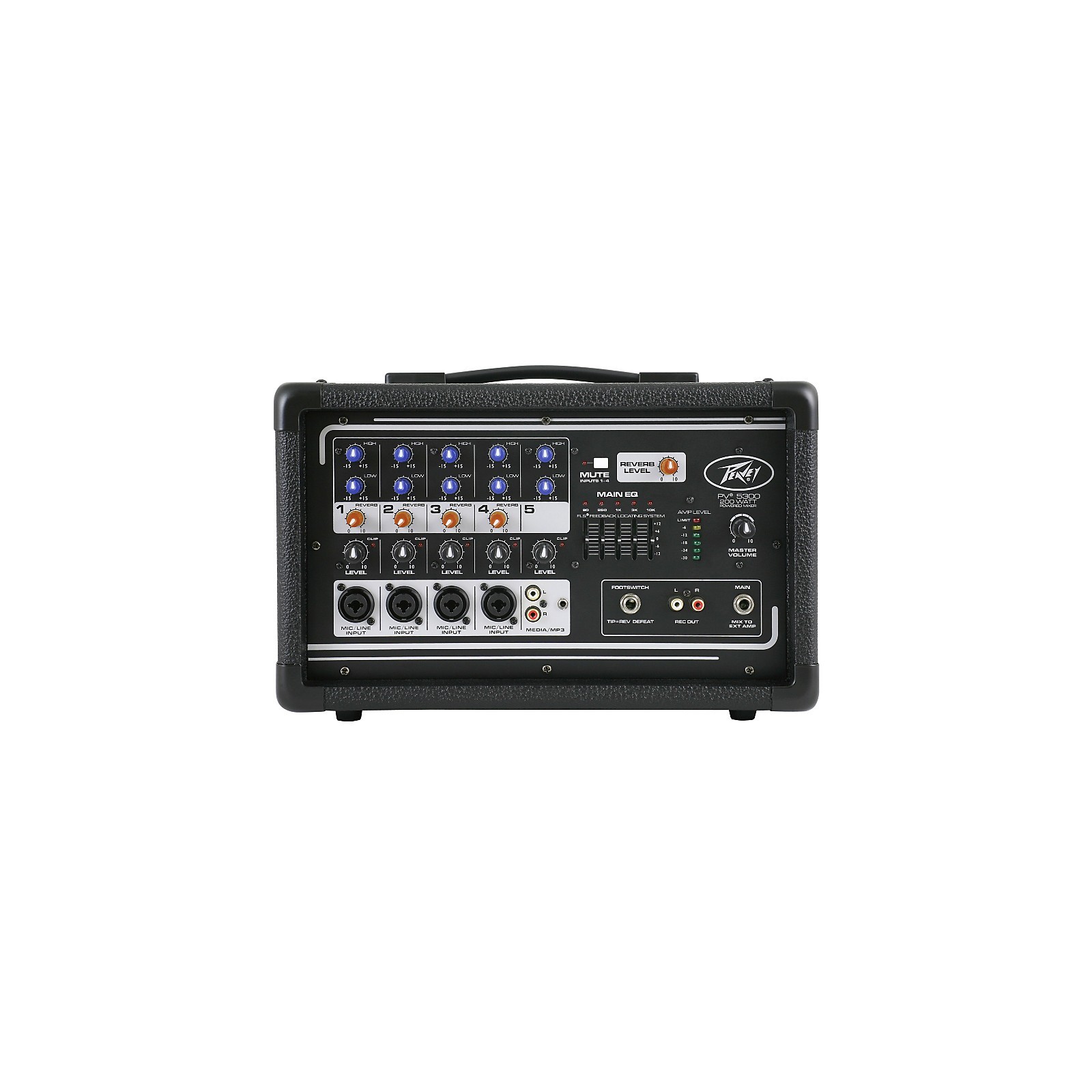 Peavey PV 5300 5-Channel Powered Mixer