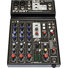 Open Box Peavey PV 6 BT Mixer with Bluetooth