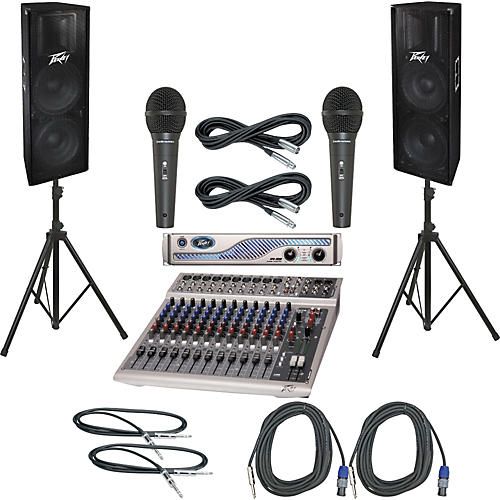 Peavey PV14 USB / IPR 3000 / PV215 PA Package
