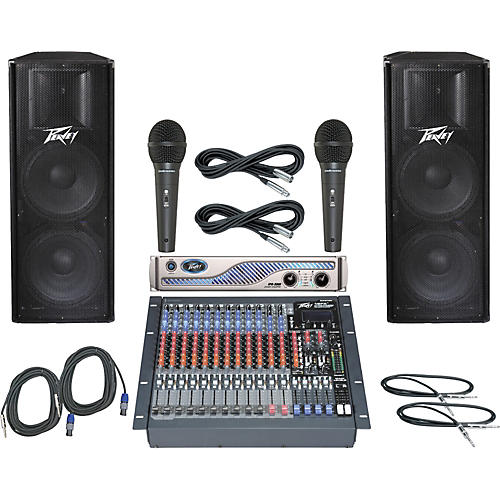 Peavey PV16FX / IPR 3000 / PV215 PA Package