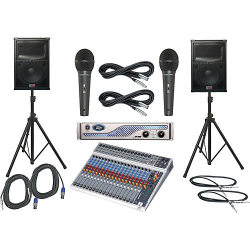 Peavey PV20 USB / IPR 3000 / SP2 PA Package