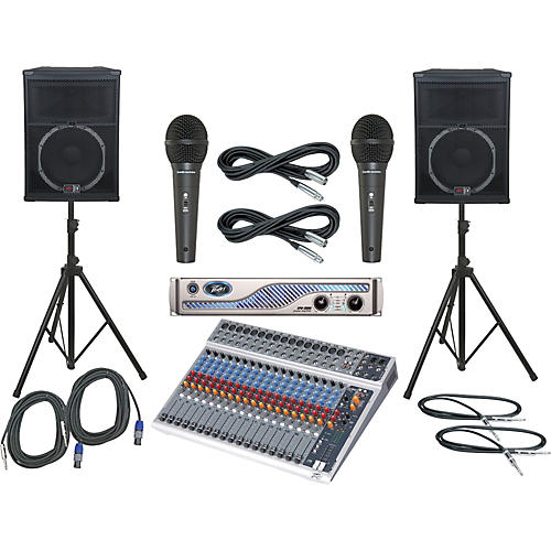 Peavey PV20 USB / IPR 3000 / SP5 PA Package