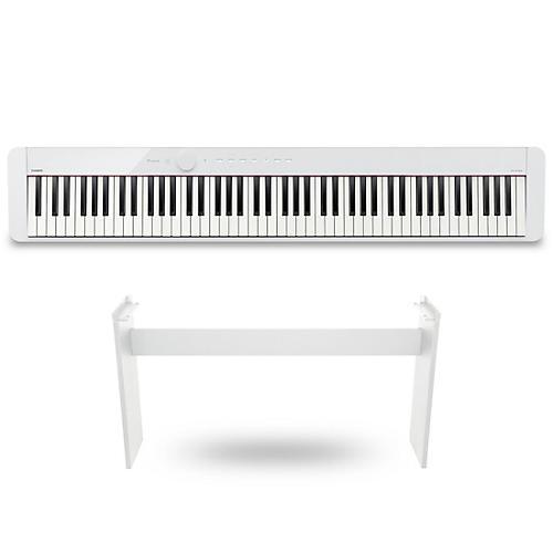 Casio PX-S1000 Privia Digital Piano White With CS-68 Stand