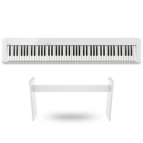 Casio PX-S1000 Privia Digital Piano White With CS68 Stand