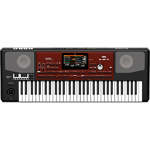 Korg Pa700 Oriental 61-Key Arranger Workstation Black