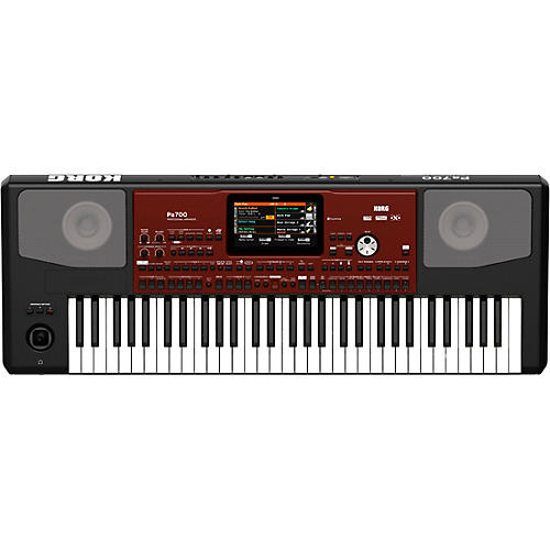 Korg Pa700 Professional Arranger 61-Key with Touchscreen and Speakers