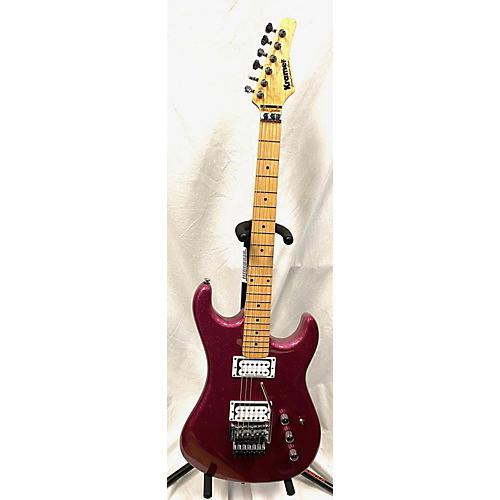 Kramer Pacer Vintage Reissue Solid Body Electric Guitar Metallic Pink