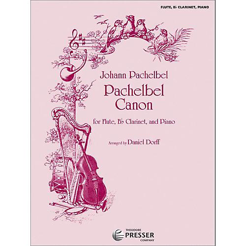 Carl Fischer Pachelbel Canon - Flute/Bb Clarinet/Piano