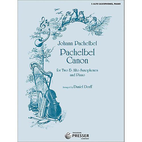 Carl Fischer Pachelbel Canon for Two - Alto Saxophone/Piano