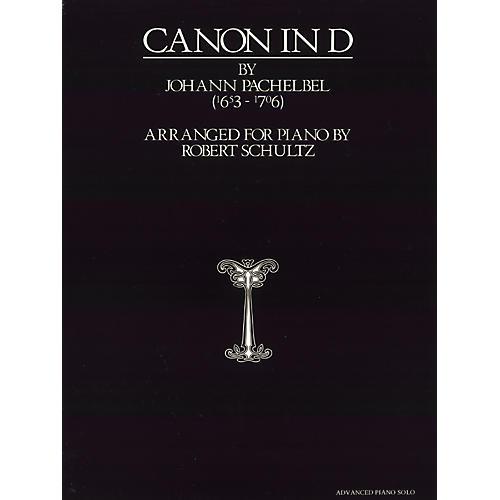 Alfred Pachelbel Canon in D Advanced Piano