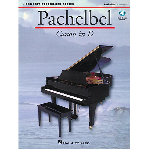 Music Sales Pachelbel: Canon in D (Concert Performer Series) Music Sales America Series Softcover with disk