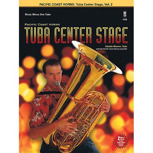Hal Leonard Pacific Coast Horns - Tuba Center Stage, Vol. 2 Book/2CD