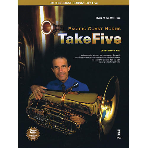Music Minus One Pacific Coast Horns, Volume 1 - Take Five Music Minus One Series Softcover with CD by Pacific Coast Horns