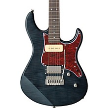 Pacifica 611 Tremolo Electric Guitar Transparent Black