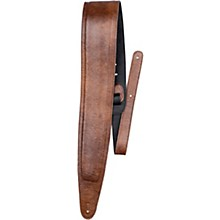 Perri's Padded Garment Italian Leather Guitar Strap