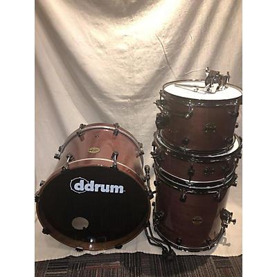 ddrum Paladin Walnut Drum Kit
