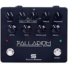 Open Box Seymour Duncan Palladium Gain Stage Distortion Guitar Effects  Pedal (Black)
