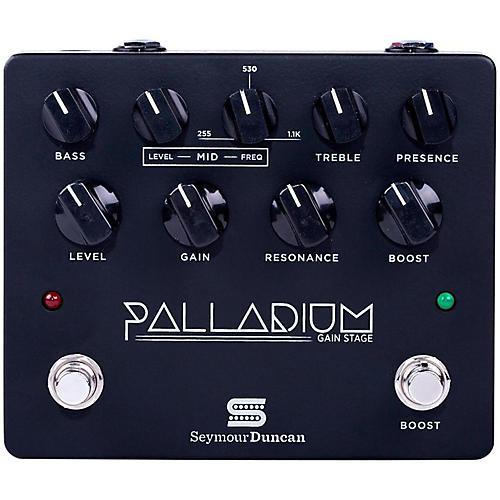 Seymour Duncan Palladium Gain Stage Distortion Guitar Effects  Pedal (Black)