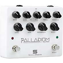 Open Box Seymour Duncan Palladium Gain Stage Distortion Guitar Effects  Pedal (White)