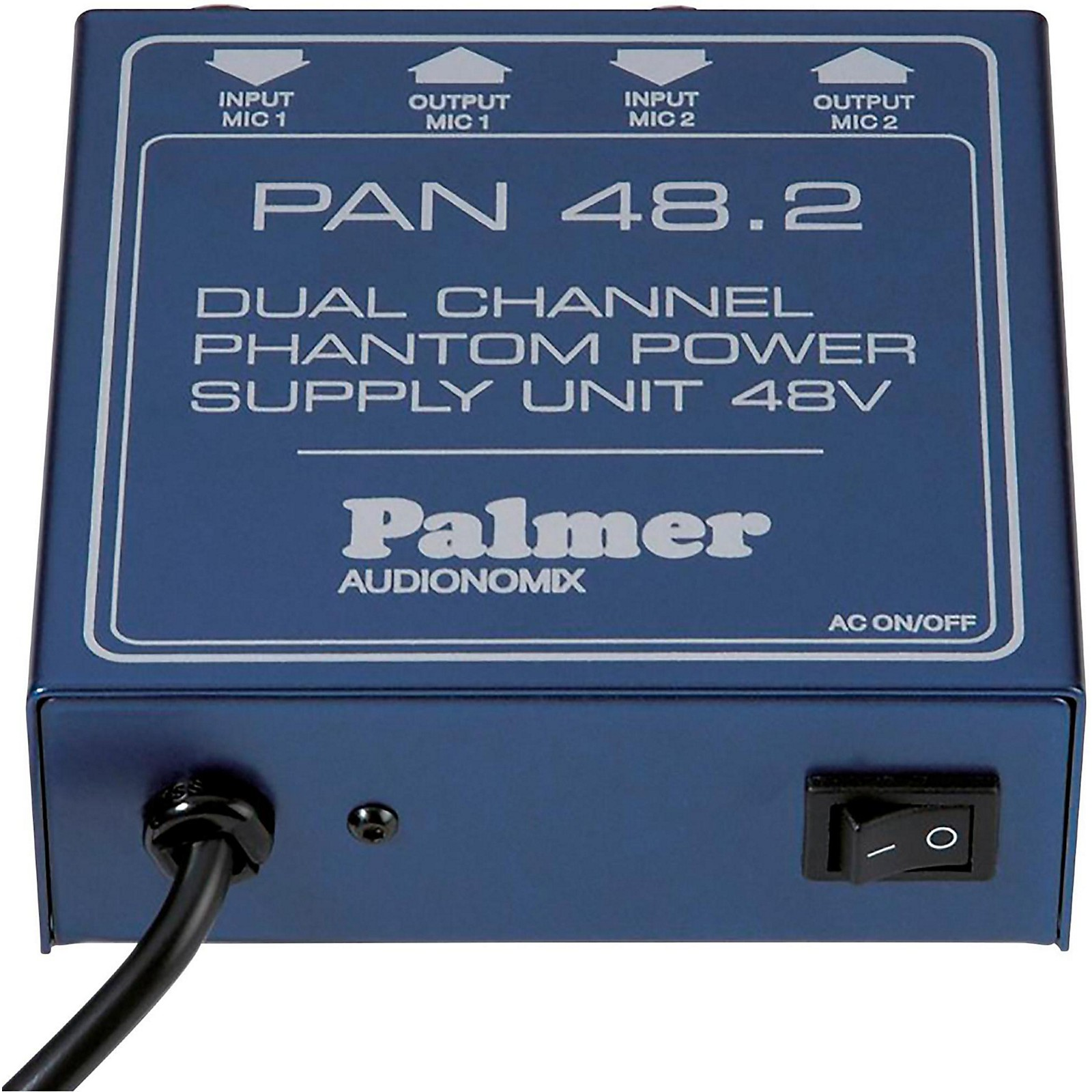 Palmer Audio Palmer Audio PAN 48 2 Channel Phantom Power Supply