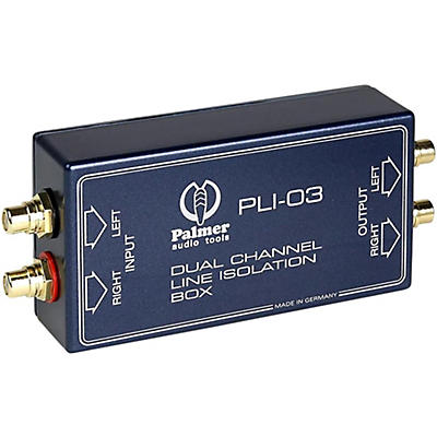 Palmer Audio Palmer Audio PLI 03 Line Isolation Box 2 Channel