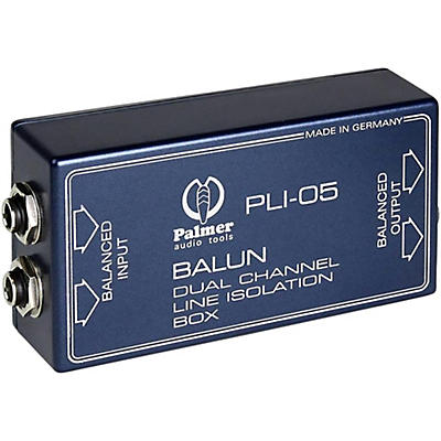 Palmer Audio Palmer Audio PLI 05 Line Isolation Box 2 Channel