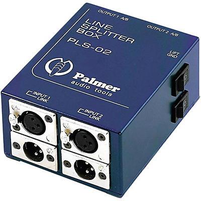 Palmer Audio Palmer Audio PLS 02 Dual Channel Line Splitter