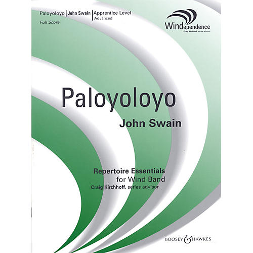 Boosey and Hawkes Paloyoloyo Concert Band Level 3 Composed by John Swain