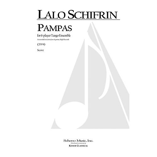 Lauren Keiser Music Publishing Pampas (for 6-Player Tango Ensemble) LKM Music Series by Lalo Schifrin