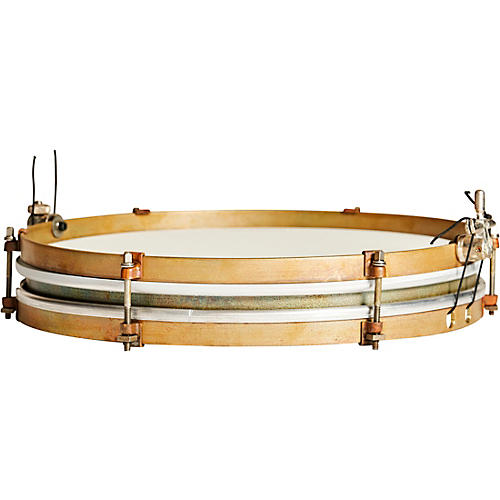 A&F Drum Co Pancake Brass Snare