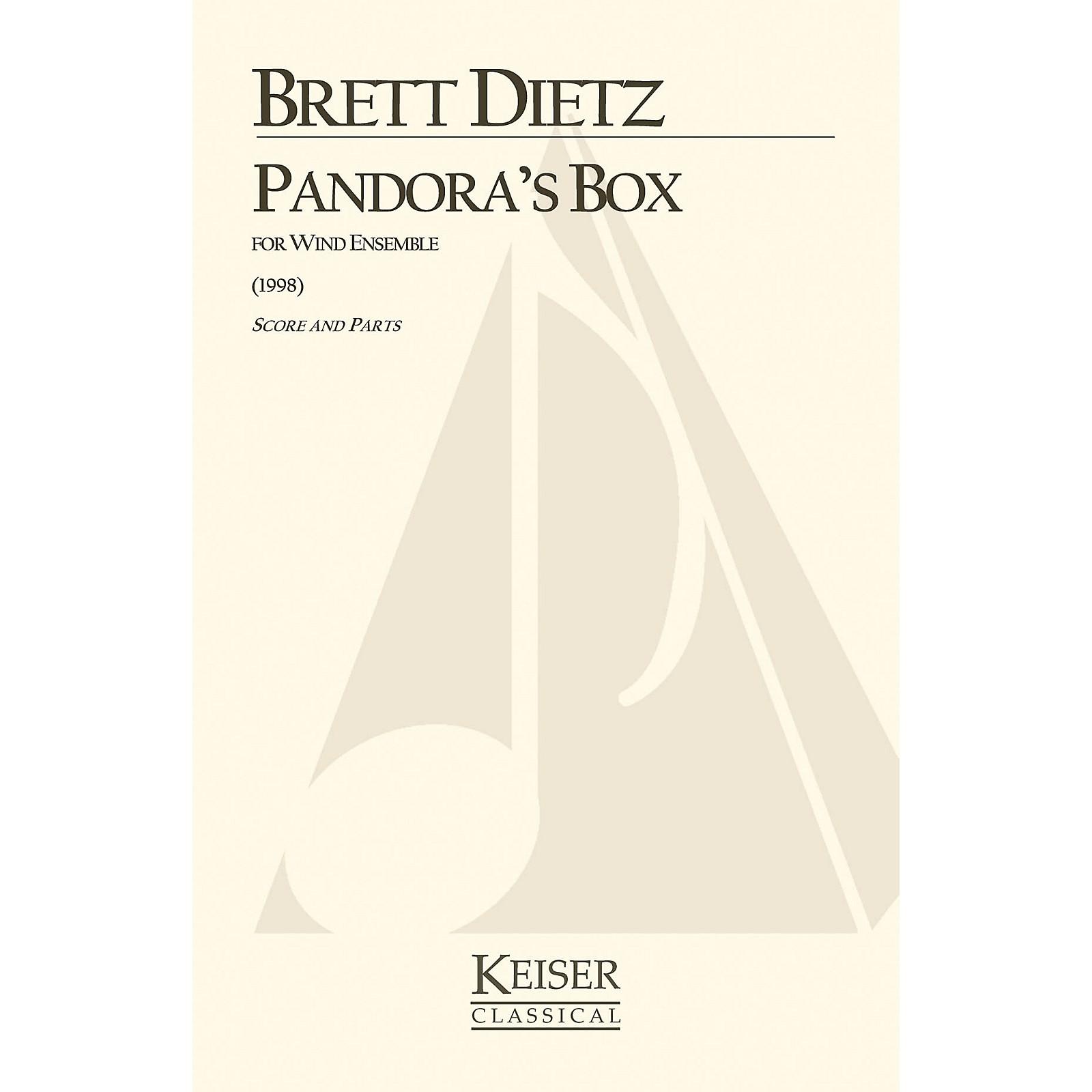 Lauren Keiser Music Publishing Pandora's Box (for Wind Ensemble) LKM Music Series by Brett William Dietz