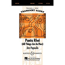 Boosey and Hawkes Panta Rhei (All Things Are in Flux) 4 Part Treble composed by Jim Papoulis arranged by Jim Papoulis