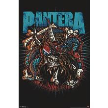 Trends International Pantera - Rocker Skull Poster