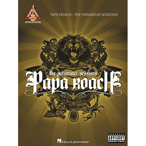 Hal Leonard Papa Roach - The Paramour Sessions (Guitar Tab Songbook)
