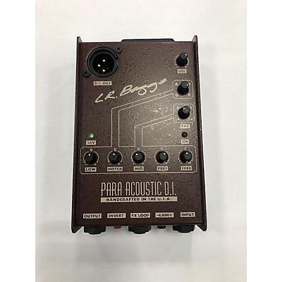 LR Baggs Para Acoustic DI Direct Box Pre With EQ Direct Box