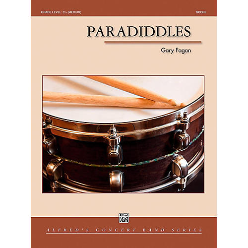 Alfred Paradiddles Concert Band Grade 3.5 (Medium)