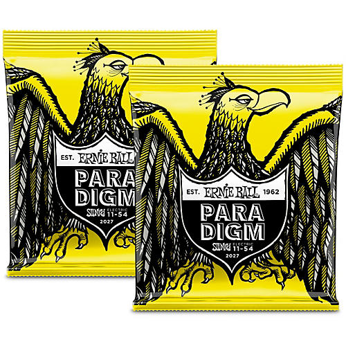 Ernie Ball Paradigm Beefy Slinky Electric Guitar Strings (2-Pack)