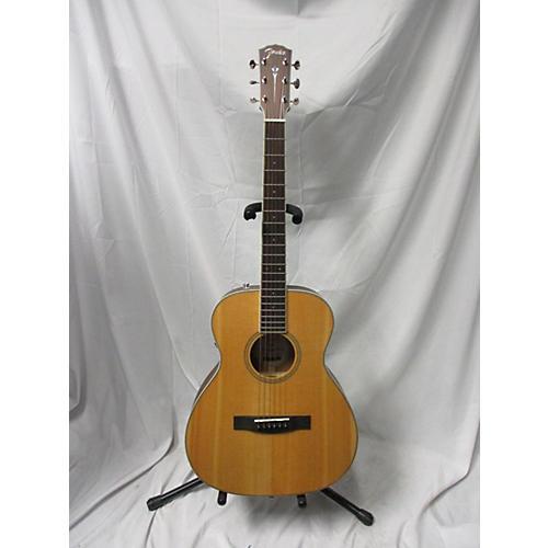 Fender Paramount PM-TE Acoustic Electric Guitar Natural